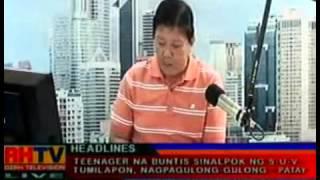 DZRH: Boom Balita Newscast January 28, 2013 1/2