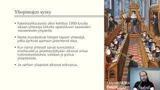 HI4 keskiajan yliopistot