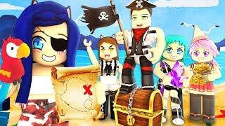 Finding rare treasure in Roblox Pirate Story!