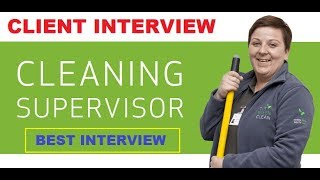 Client Interview Of Cleaning Supervisor and Cleaning Labour For Saudi Arabia