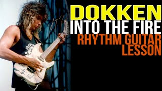 Video Dokken Into The Fire Rhythm Guitar Lesson, George Lynch - Lynch Lycks S4 Lyck 1 download MP3, 3GP, MP4, WEBM, AVI, FLV Maret 2017