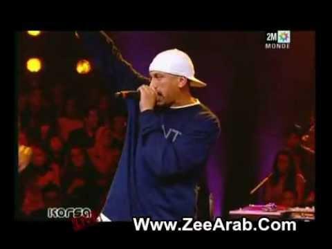 H  Kayne -  Li Liha Liha Sur Korsa Live - ZeeArab.Com Rap Marocain