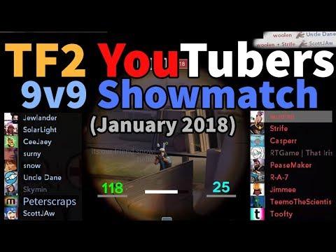TF2 YouTubers Showmatch - Woolen's Sniper POV (Essentials.TF)