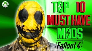Fallout 4 top ten must have mods. This video shows off essential mo...