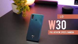 LG W30 with Triple Camera - Full Review, Specs and Price