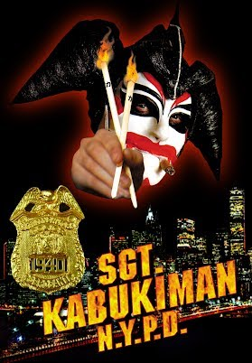 Image result for sgt. kabukiman n.y.p.d