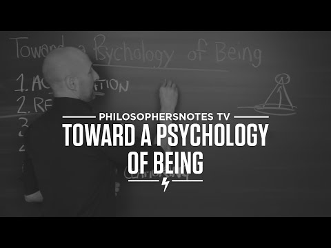 PNTV: Toward a Psychology of Being by Abraham Maslow