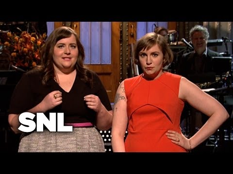 Monologue: Lena Dunham on the Sex in HBO's Girls  SNL