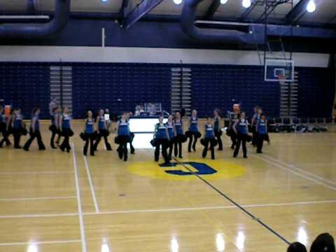clarkston junior high school poms team
