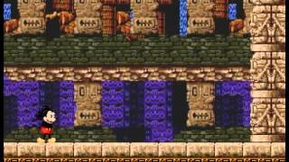 Castle of Illusion Starring Mickey Mouse - Castle of Illusion Starring Mickey Mouse (Sega Genesis) Speedrun 3 - User video