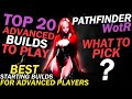 Pathfinder: Wrath of the Righteous [4K] - Top 20 Best Starting Builds for Advanced players