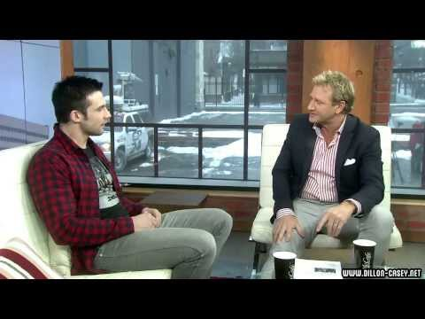 Dillon Casey  at CP24 Breakfast