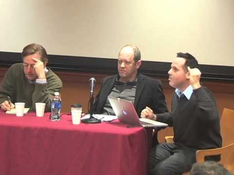 """Thomas Frank """"Writing on the Left: Is there a Left Public Sphere?"""" Scholar in Residence 2015 Ep 4"""