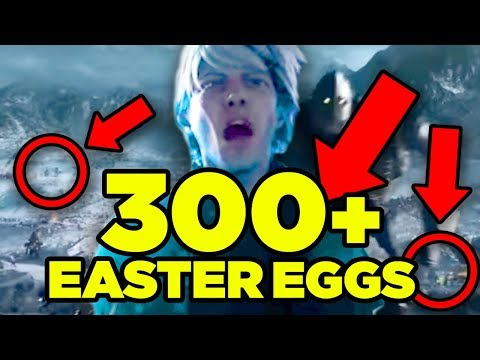 READY PLAYER ONE - ALL 300+ Easter Eggs!!!