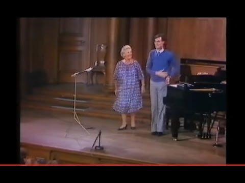 PART 5.TV.Elisabeth Schwarzkopf.MASTERCLASS.EDINBURGH.1980. Schumann.Schubert.