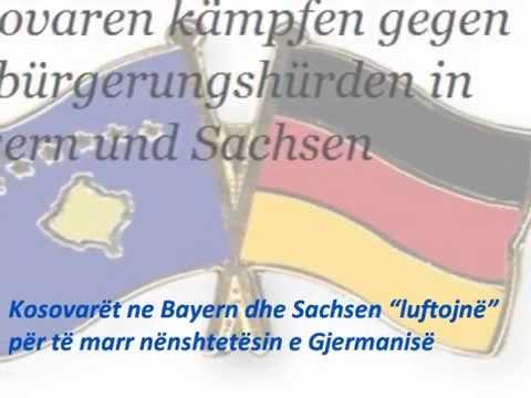 """Kosovarët në Bayern dhe Sachsen """"luftojn"""" për të marr nënshtetësin e Gjermanisë"""