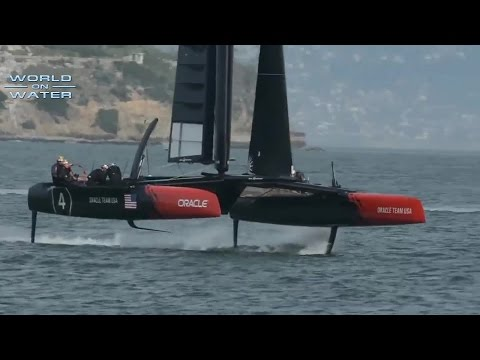 World on Water March 01.15 Global Sailing News.Caribbean 600, USCG, Oracle AC 45S, BWR Day 60 more