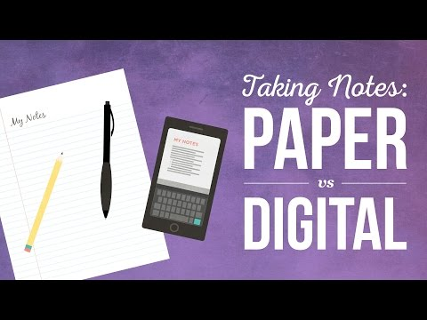 Mixing Paper and Digital Note-Taking Systems