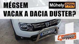 MűhelyPRN 34. a Becsületesnepperrel: Mégsem vacak a Dacia Duster?