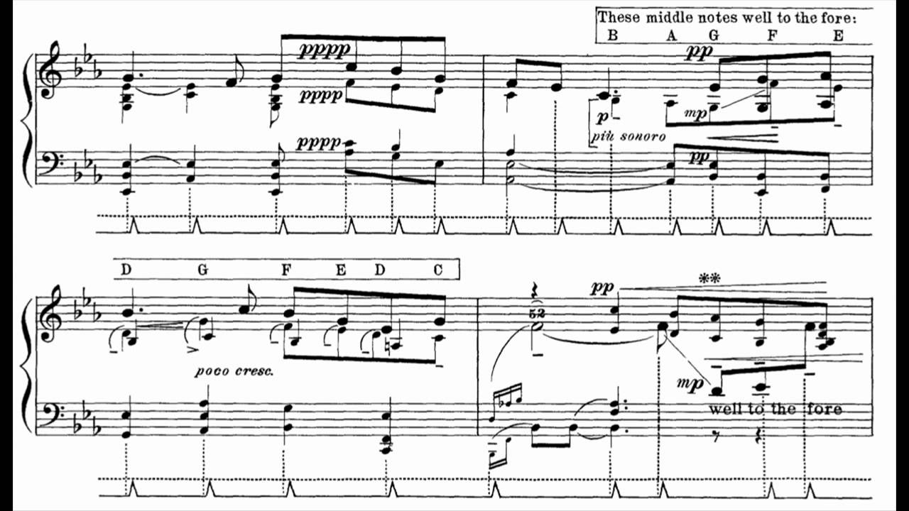 Percy Grainger - Irish Tune from County Derry (Piano) - YouTube