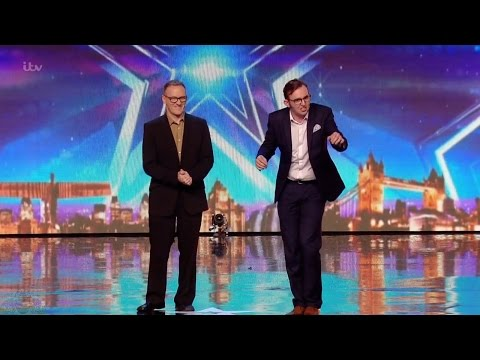 Britain's Got Talent 2016 S10E05 The Mimic Men Impressionist Duo Bring the House Down Full Audition