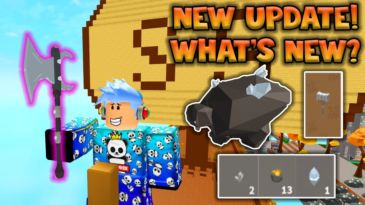 Skyblock New Update How To Get Crystalized Iron And More