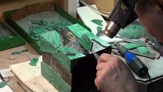 видео реставрационная мастерская искусственного  камня