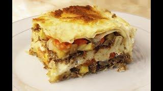 Удивительно Вкусный и Быстрый Пирог из Лаваша с мясом и картофелем