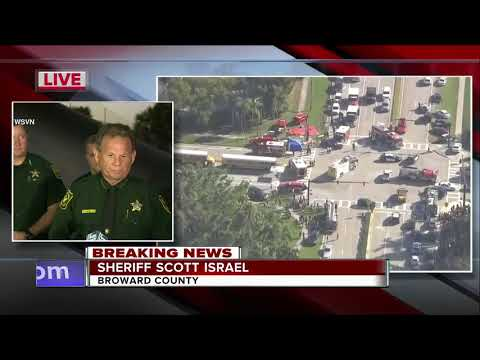 Broward County Sheriff updates school shooting that left 17 dead