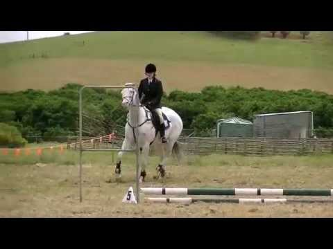 Izzy & Micky's !st jumping Comp at Bindoon Ag Show
