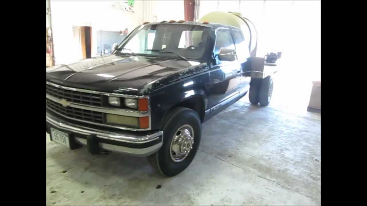 1989 Chevrolet 3500 Ext. Cab flatbed truck for sale | sold ...