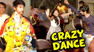 Swara And Lakshya Funny Dance During Ganpati Visarjan | Swaragini
