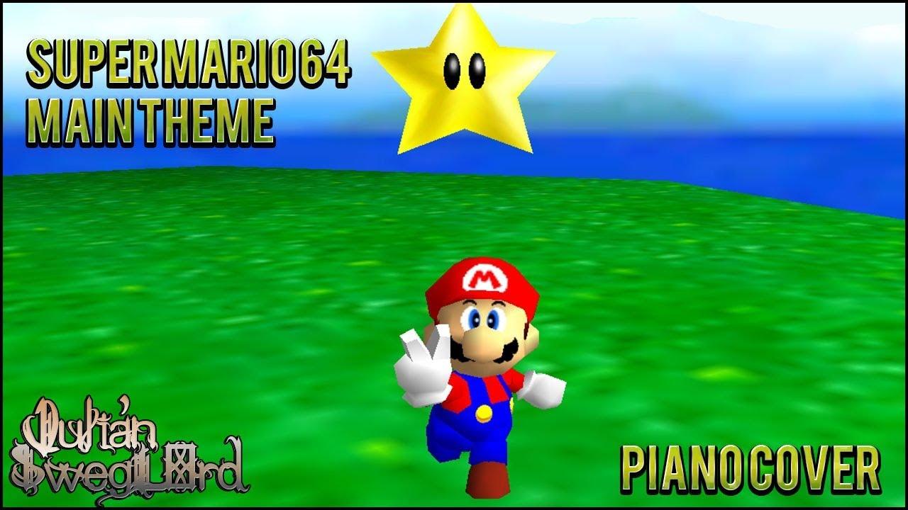 Super Mario 64 - Main Theme (Piano Cover)