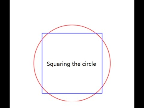 How Archimedes squared the circle