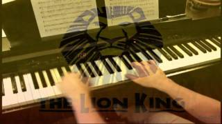 Shadowland -The Lion King (Broadway)   Piano