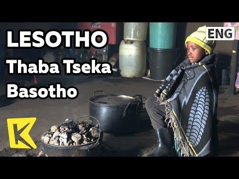 【K】Lesotho Travel-Thaba Tseka[레소토 여행-타바체카]레소토의 바소토인/Basotho/Blanket/Sotho people/Border/Visa