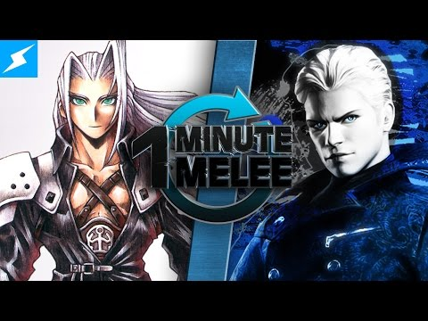 One Minute Melee - Vergil vs Sephiroth (Devil May Cry vs Final Fantasy)