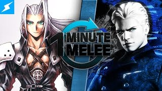 One Minute Melee - Vergil vs Sephiroth (Devil May Cry vs Final Fantasy) thumbnail