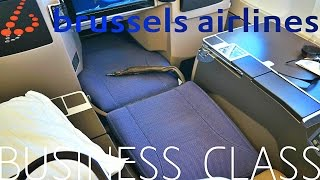 Brussels Airlines BUSINESS CLASS to TORONTO
