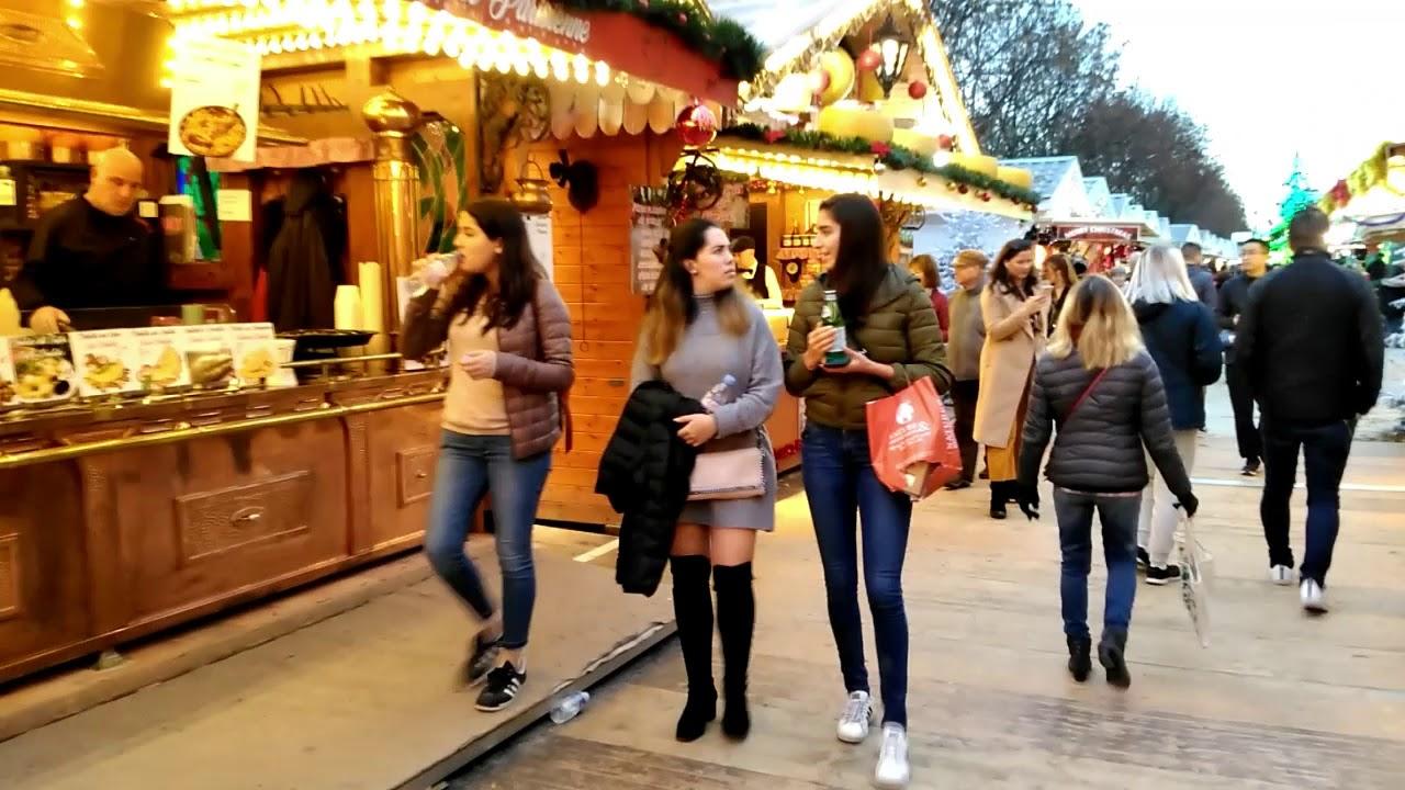 Le Marche De Noel 2018 Du Jardin Des Tuileries Youtube
