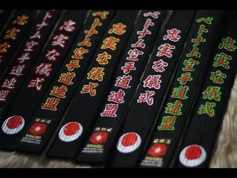 ĐAI ĐEN KARATE NHẬT | Black belt karate