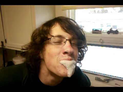 Cody eating Alka seltzer - YouTube