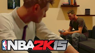 "NBA 2K15 PC MY CAREER! #1 ""UN-DRAFTED BUT HUNGRY!"" w/TBNRkenWorth"