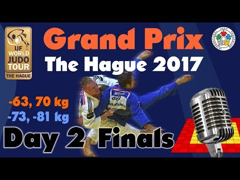 Judo Grand-Prix The Hague 2017: Day 2 - Final Block