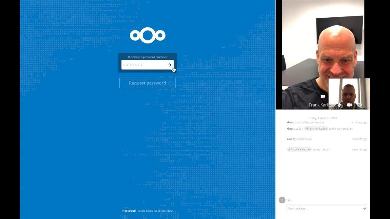 Nextcloud Talk: Private communication, anywhere – Nextcloud