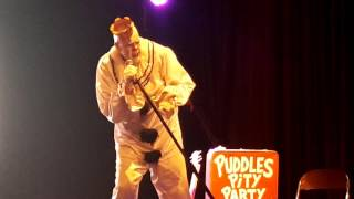 "Puddles Pity Party performs ""Fix You"" by Coldplay"