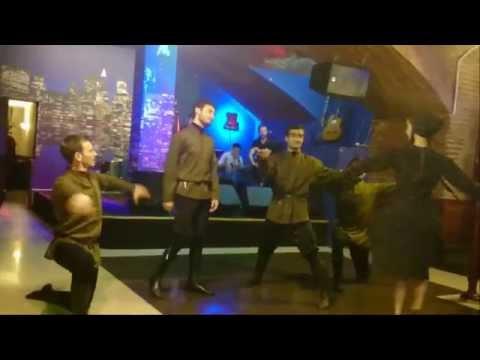 Georgian dance show - Chakrulo Restaurant Tbilisi