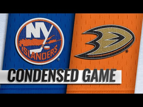 10/17/18 Condensed Game: Islanders @ Ducks