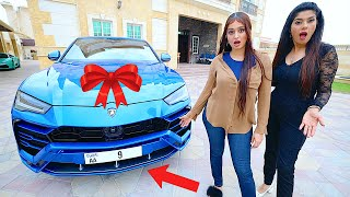 Surprising my family with a Lamborghini Urus *EXPENSIVE PLATE* !!!