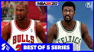 Are '96 Bulls BEST Ever? | '65 Celtics vs '96 Bulls on NBA2K20